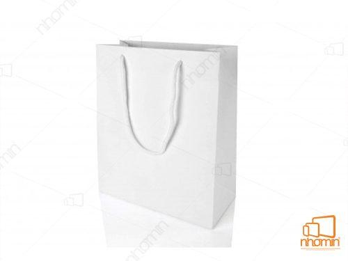 túi trắng không in màu