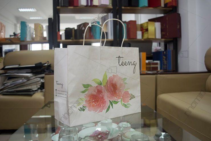 mẫu in túi giấy giá rẻ tại hà nội dành cho shop thời trang